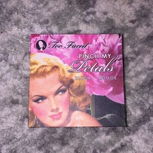 Too Faced Pinch My Petals Blush NWOT